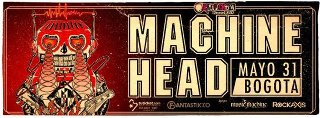 machine head colombia 2015
