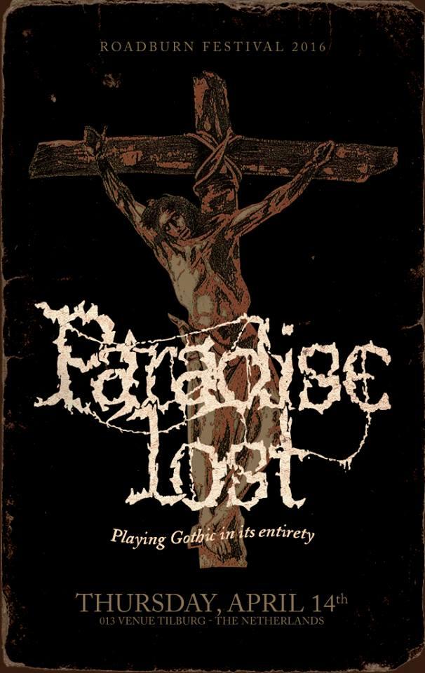paradise lost gothic roadburn 2016