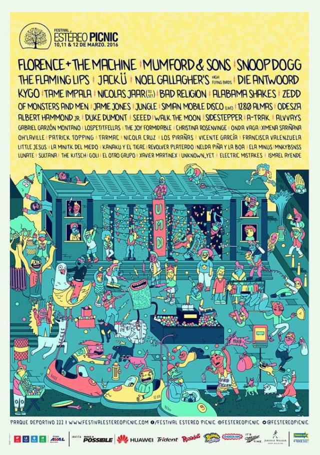 Festival Estereo Picnic 2016