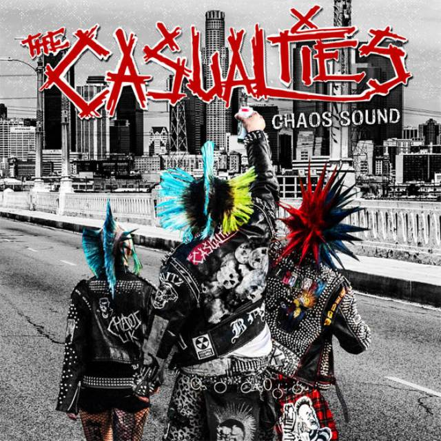 THE CASUALTIES chaos sound