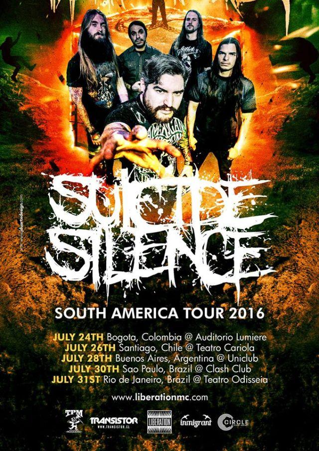 suicide silenc sudamerica 2016