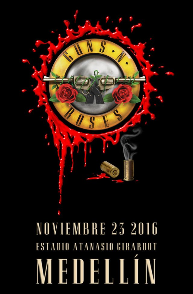 guns n roses colombia 2016