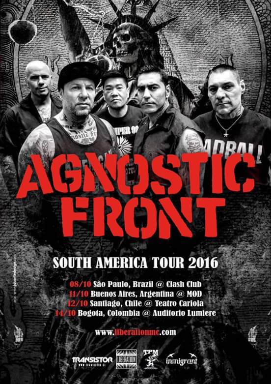 agnostic front sudamerica 2016