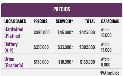 precios-boleteria-metallica