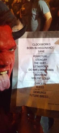 Meshuggah, Oct 30 en elPhoenix Concert Theatre de Toronto, Canadá