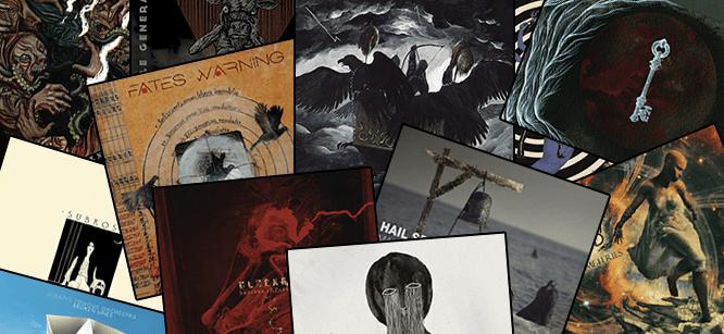 Los mejores discos de Rock y Metal 2016