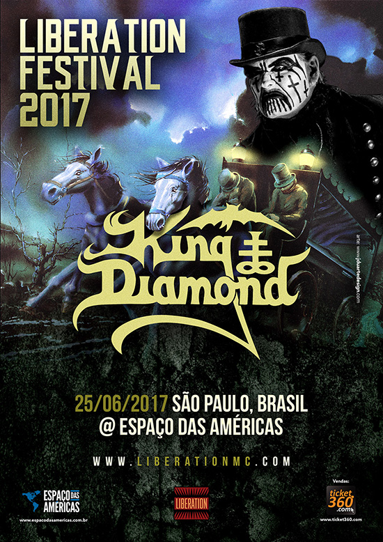 king diamond sudamerica 2017