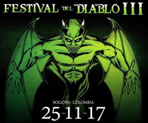 Festival del Diablo III, Nov 25 en Bogotá, Colombia
