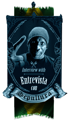 Exclusiva entrevista con Sepultura Endurance, Derrick Green - A killer Metal interview with Sepultura