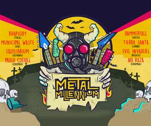 Festival Metal Millennium, Ene 21 en Bogotá, Colombia