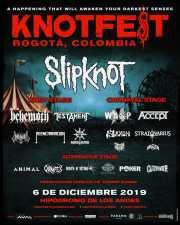 Reseña del Festival Knotfest Colombia 2019