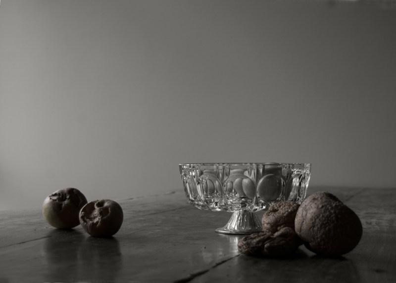 Memento mori - stilleven met appels