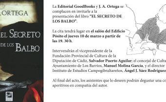 Invitación para la presentación del libro El Secreto de los Balbo
