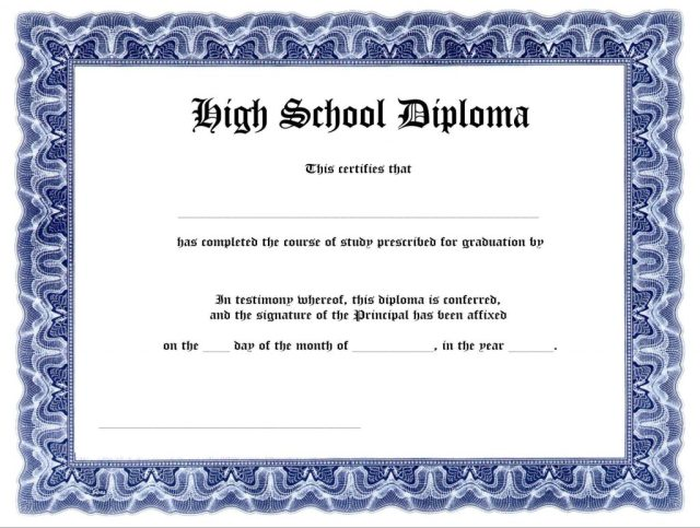 high school diploma templates for free - 35 high school diploma template download free