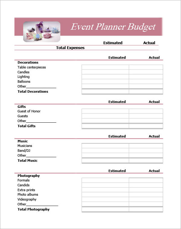 10 Event Program Template Free Download WORD Excel PDF