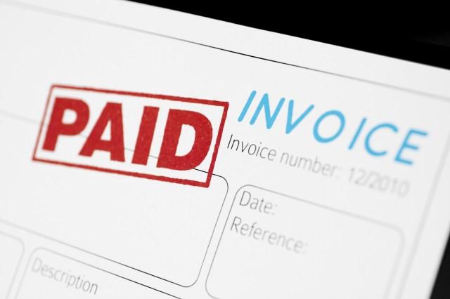blank invoice