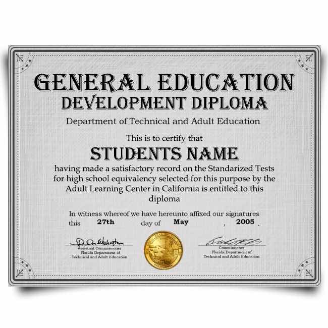 ged fake transcripts certificate pdf templates word format january