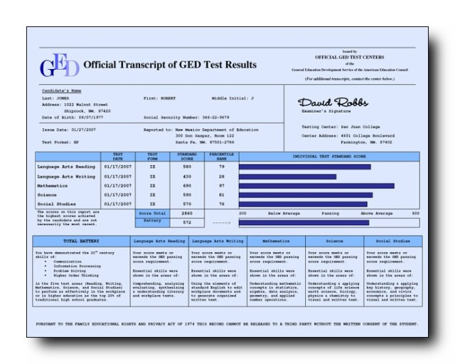 7  fake ged transcripts free download