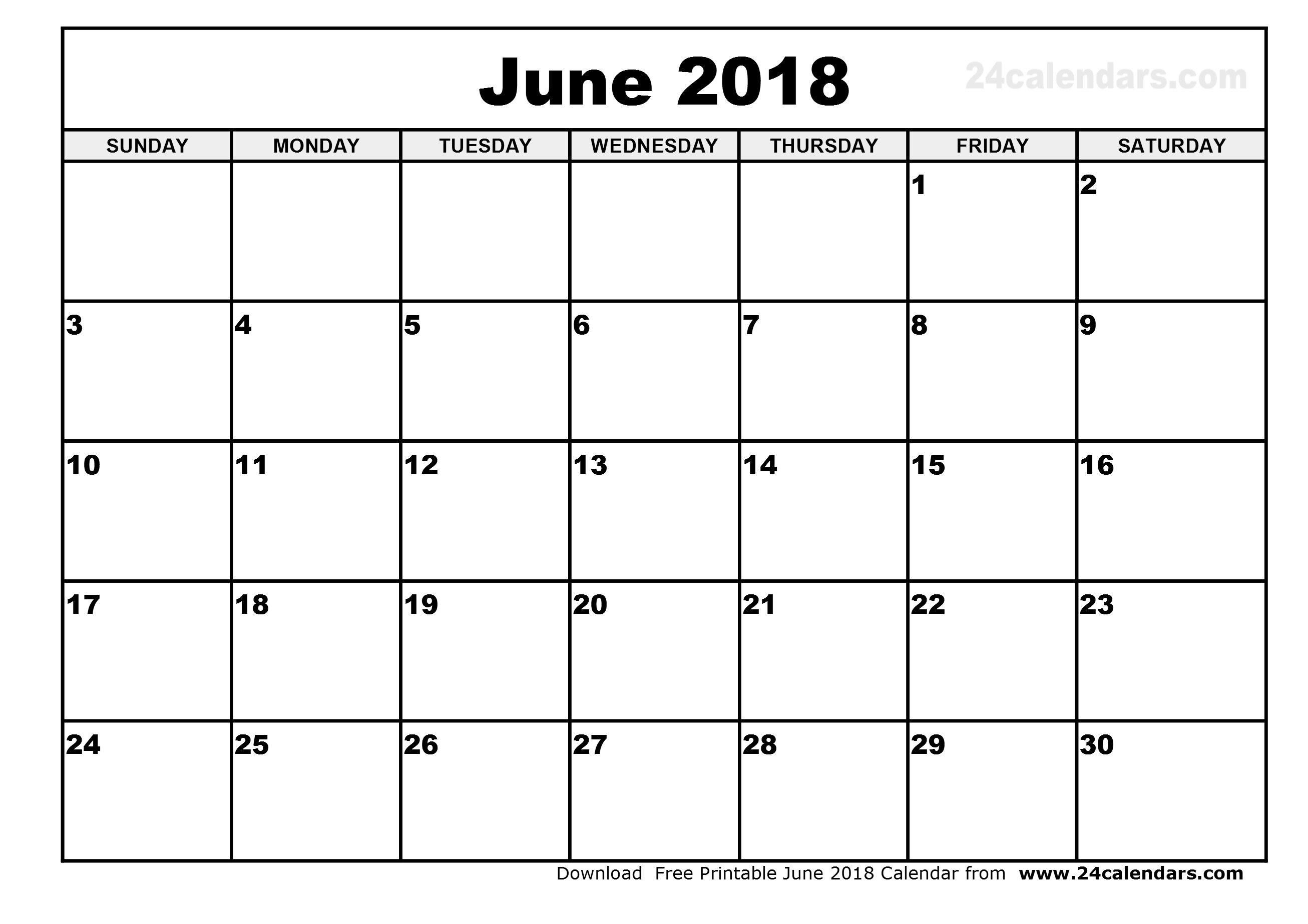 blank june 2018 calendar free download elsevier social sciences. Black Bedroom Furniture Sets. Home Design Ideas