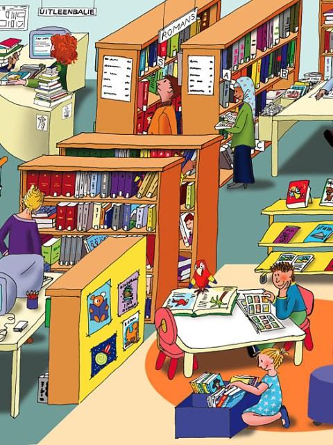 vertelplaten bibliotheek