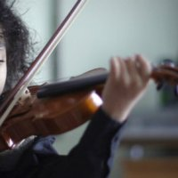 A Sickle cell survivor! 5 year Old Violin Prodigy, 6 Languages expert, Jr Black-belt achiever