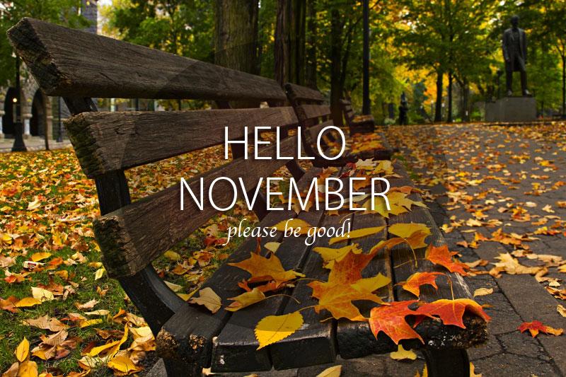 Hello November Wallpaper 4 Elsieisy Blog