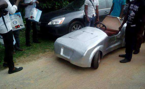 Nigerian Students Build Electric Powered Car
