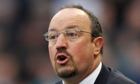 Real Madrid Sacks Rafa Benitez