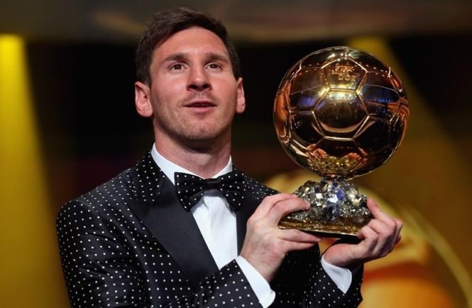 Messi wins record fifth FIFA Ballon d'Or