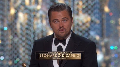 Leonardo DiCaprio finally wins an Oscar!! See Full List Of Winners