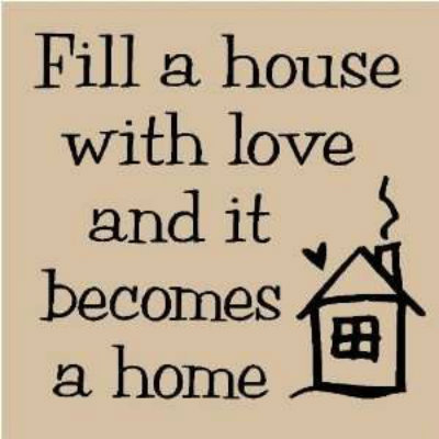 A House Is Not A Home