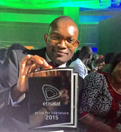 Congo DRC writer, Fiston Mujila, wins Etisalat Prize For Literature