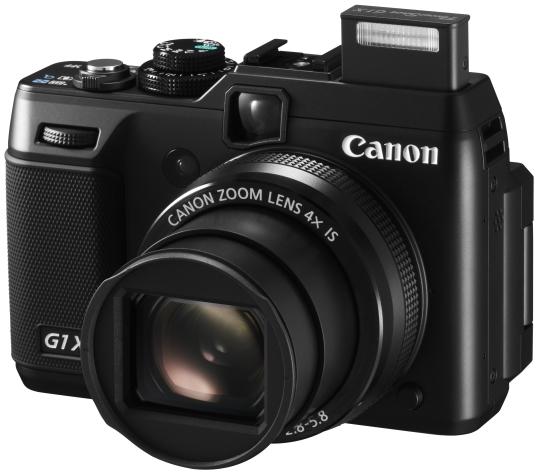 Latest Canon G-series prosumer camera