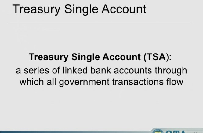 15 things to know about Treasury Single Account (TSA)
