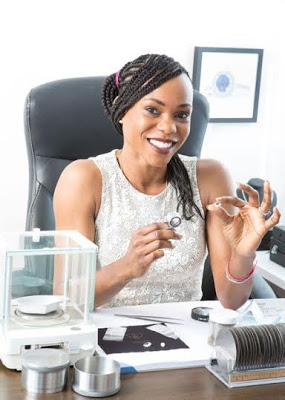 Meet The Only Nigerian Woman In The World Of Diamond Business