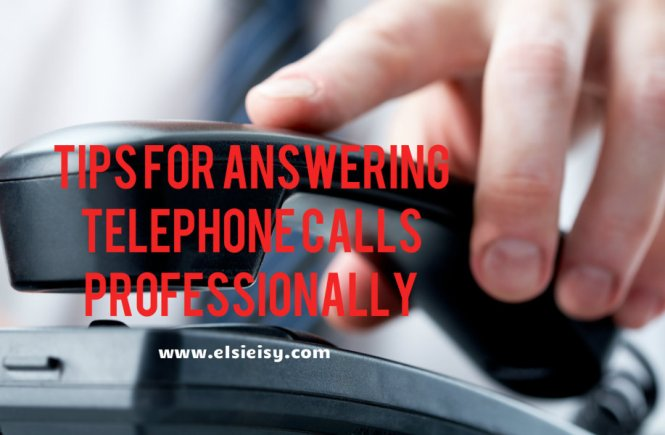 Tips For Answering Telephone Calls Professionally