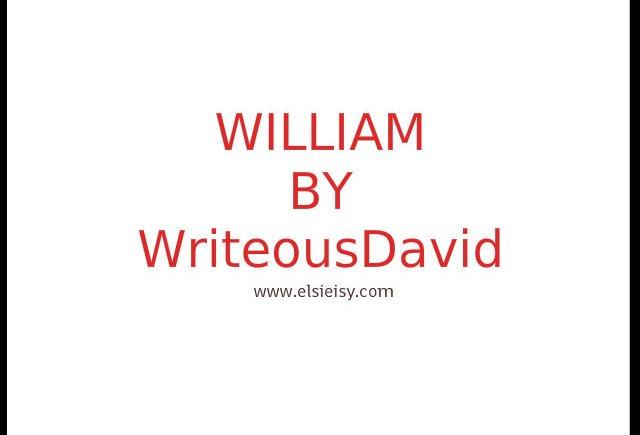 william poetry