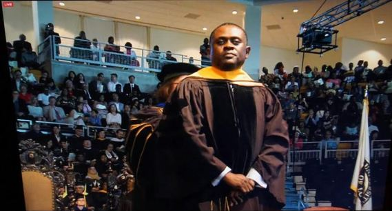 Dr. Bennet Omalu Gets Honorary Degree From Xaxier University, Louisiana