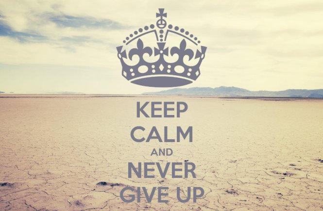 4 Reasons Why Giving Up Should Never Be Your First Resort - elsieisy blog