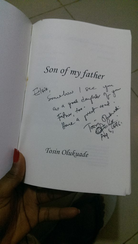 Book Giveaway & Review - Son of my Father by Tosin Olukuade - elsieisy blog