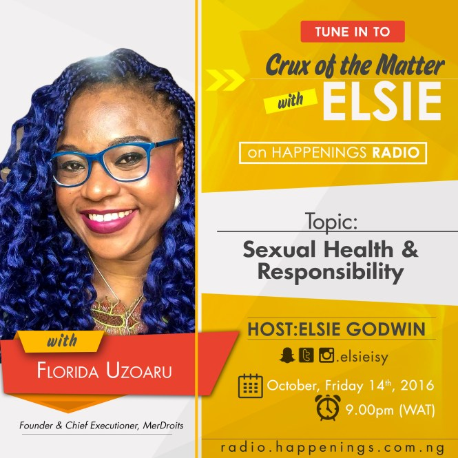 crux of the matter with Elsie on Happenings radio - elsieisy blog