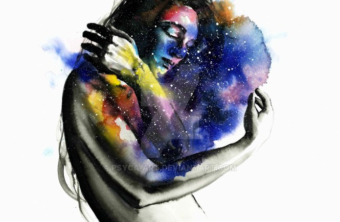 Embrace- art - poetry - elsieisy blog