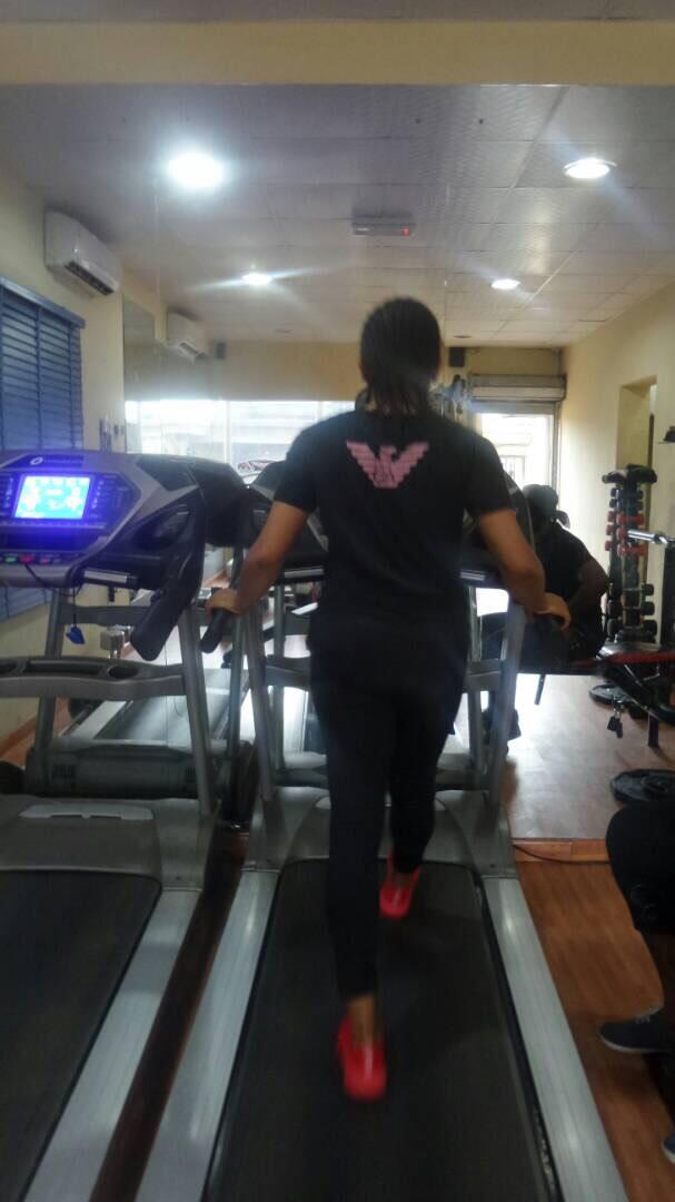 Elsie Godwin at the gym - elsieisy blog