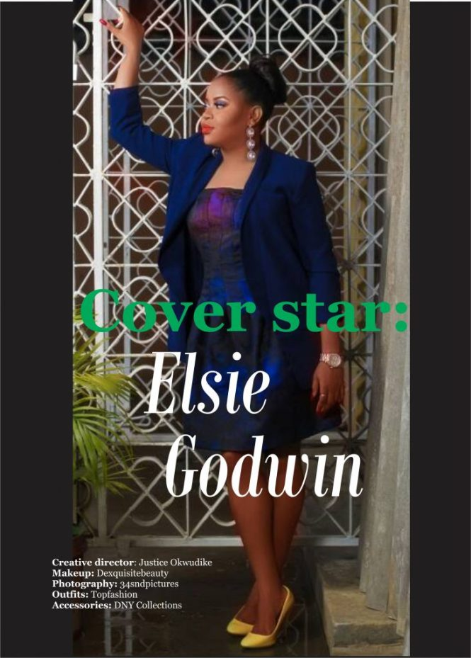 cover star - elsie godwin - TNY Magazine - The Nigerian Youth - elsieisy blog