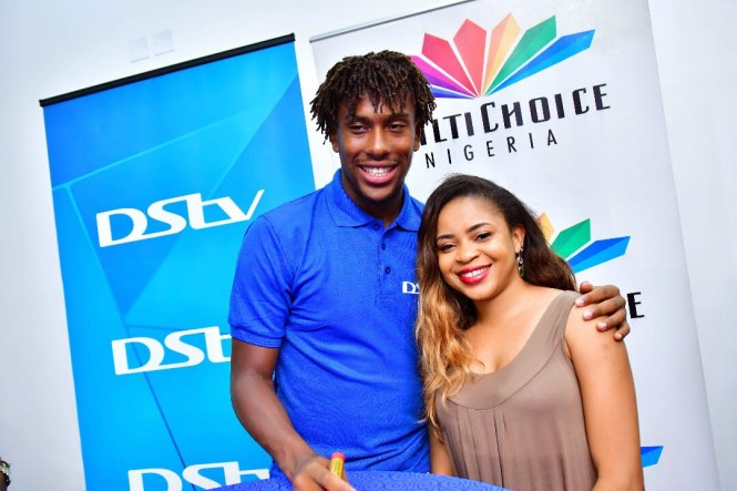 Photo of Elsie Godwin and Alex Iwobi - elsieisy blog