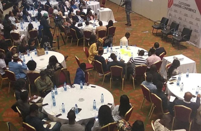 cross section of guests at Custodian mentors conference - elsieisy blog