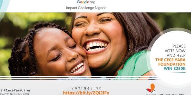 Cece yara foundation - Saving Nigerian Children from sexual abuse - Google Impact challenge - elsieisy blog