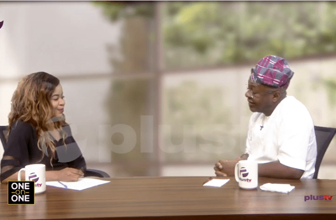 Elsie Godwin and Folorunsho Coker on Plus TV Africa - elsieisy blog