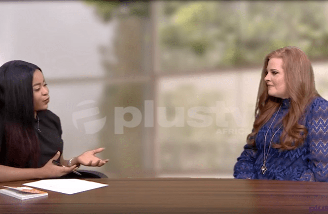 Elsie Godwin and Rev. Mrs. Laurie Idahosa at Plus TV Africa - elsieisy blog
