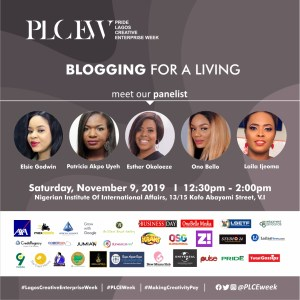 Blogging for a living - PLCEW
